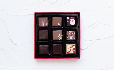 набор конфет новогодний