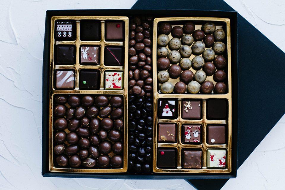 Большой новогодний набор конфет