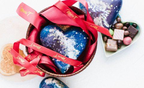 Шоколадное сердце с сюрпризом