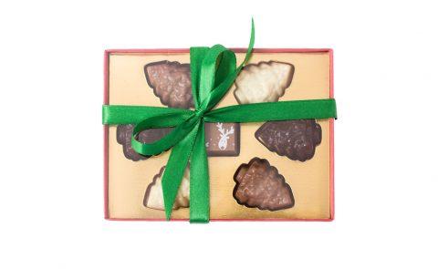 Шоколадные елочки