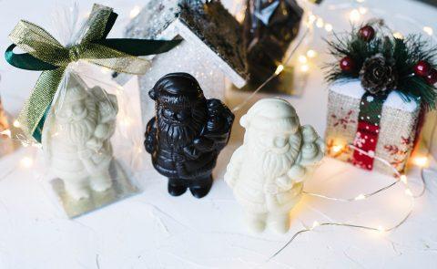 Дед Мороз шоколадный