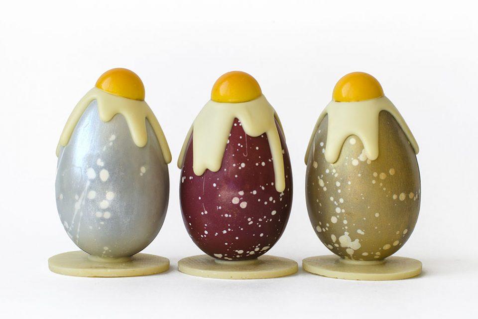 Пасхальное шоколадное яйцо