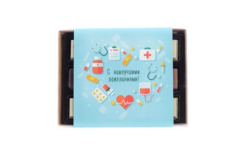 Набор конфет для медиков